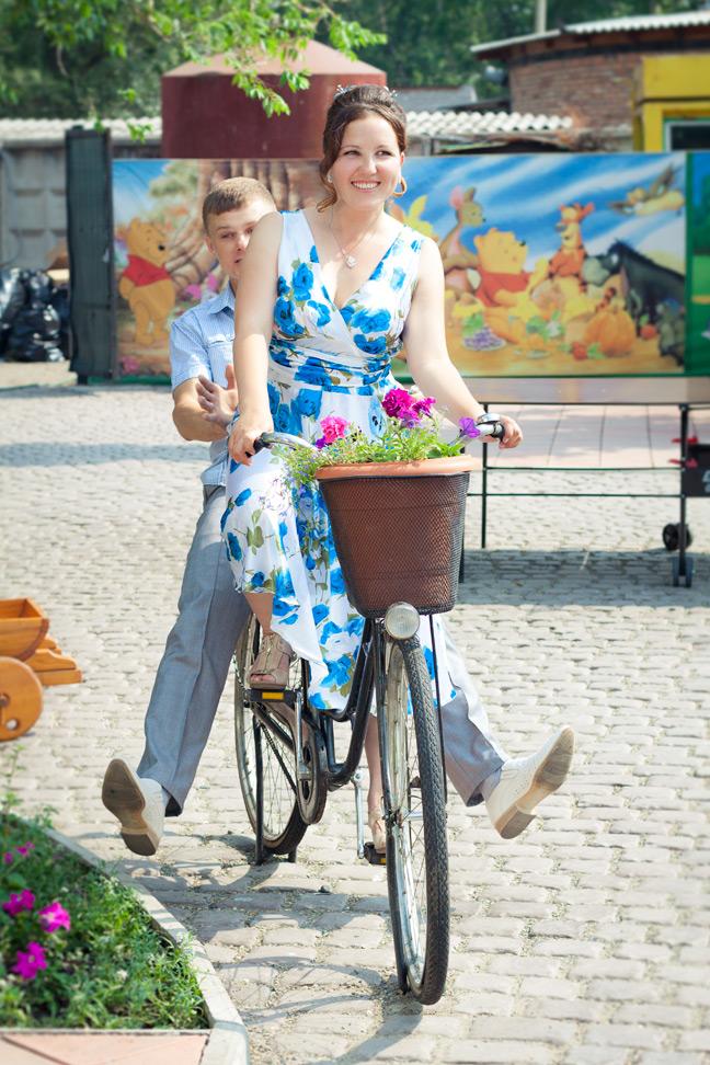 Виктор и Елена, уличная фотосъёмка