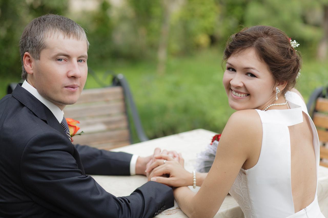 Сергей и Наталья, свадебная прогулка, Абакан, Хакасия