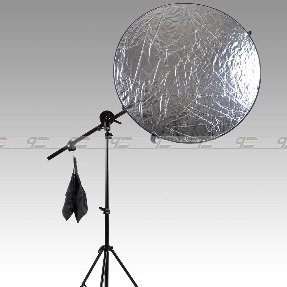 Free-Shipping-Studio-Photo-Holder-Bracket-Swivel-Head-Reflector-Arm-Support-24-66-Sandbag-AKT229 (2)
