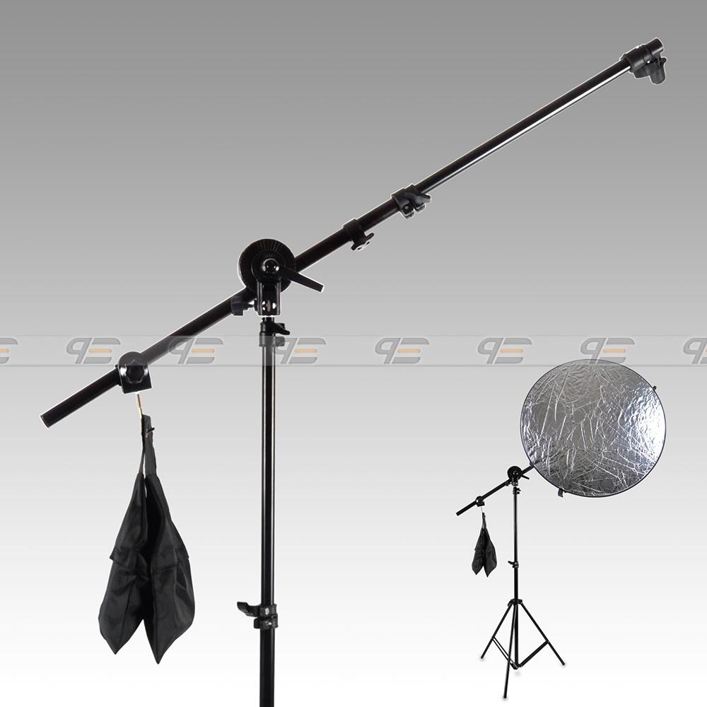 Free-Shipping-Studio-Photo-Holder-Bracket-Swivel-Head-Reflector-Arm-Support-24-66-Sandbag-AKT229