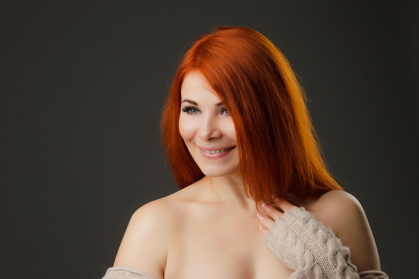 Ольга, студийная фотосъёмка, Абакан, фотограф Александр Зараменских